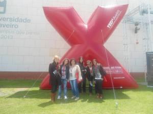 Alunos de LMPRP no TEDx Aveiro